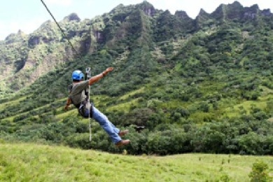 Product Kualoa Zip and Experience