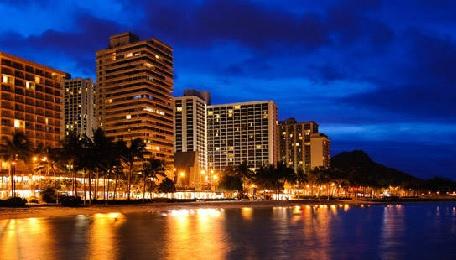 Product Honolulu City Lights and Sunset Sail