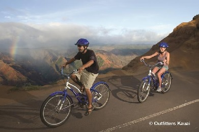 Kauai Bike Downhill Canyon To Coast