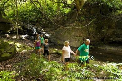 Product Wailua River Paddle Jungle Hike