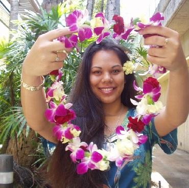 Product Honolulu Lei Greeting