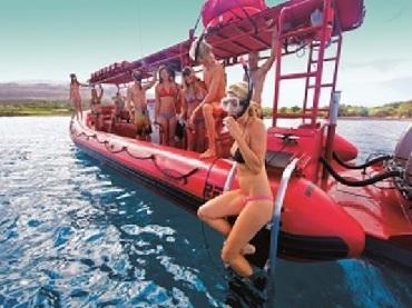 Product Forbidden Coast & Molokini Snorkel Adventure