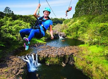 Product The Umauma Experience Falls & Zipline - 9 Line
