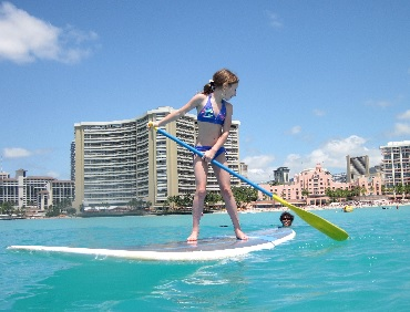 Stand Up Paddle Board Ocean Safari Lesson image 1