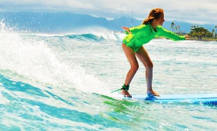 Waikiki Surf Lesson image 1