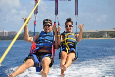 Product Kaanapali West Maui Parasail Early Bird