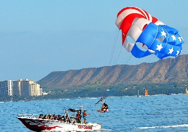 Product Waikiki Parasailing