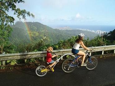 Oahu Bike & Waterfall Hike