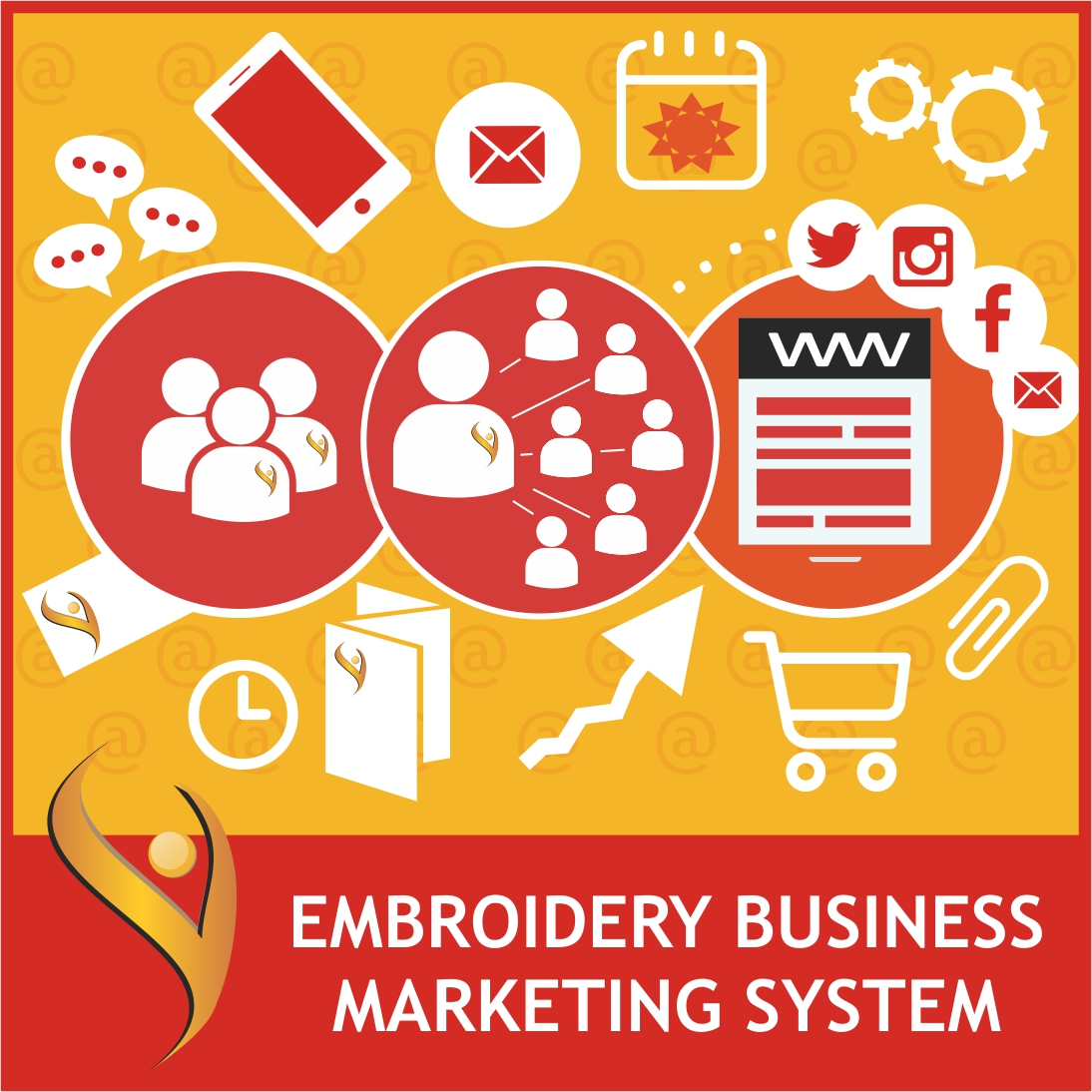 Embroidery Business Marketing System