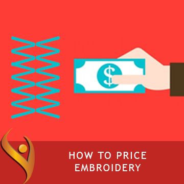How To Price Embroidery