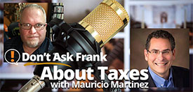 Don't Ask Frank About Taxes