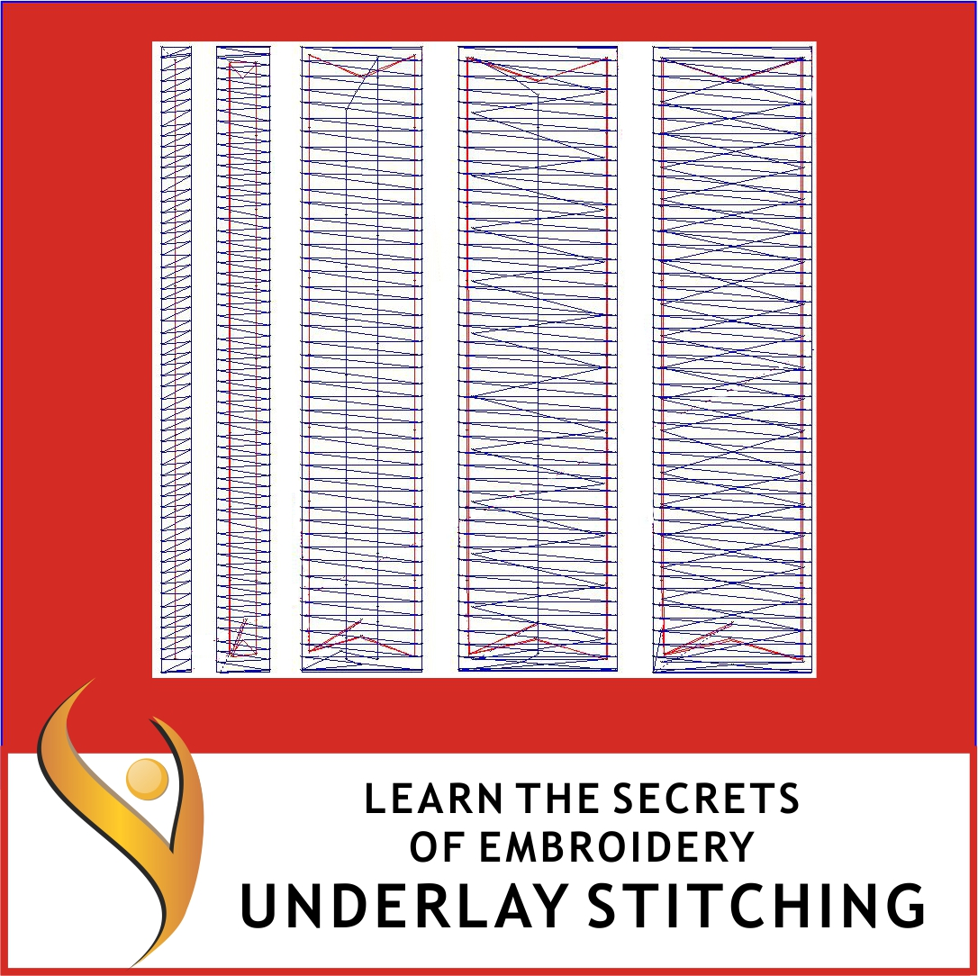 Embroidery Underlay Stitching