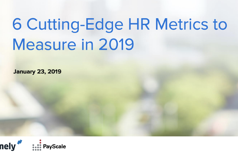 6 Cutting Edge HR Metrics