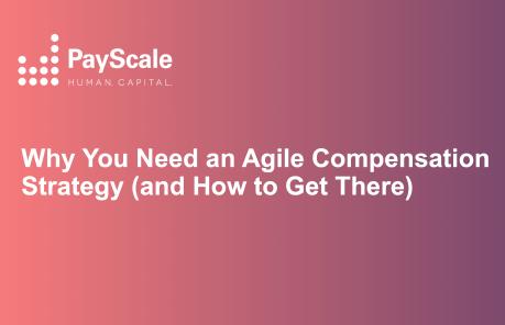 Agile Comp Strategy
