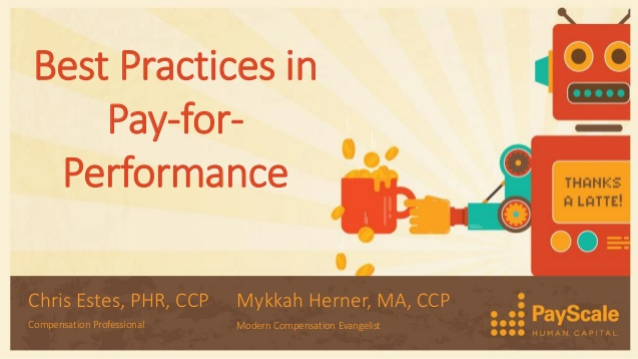 Best Practices in Pay-for-Performance