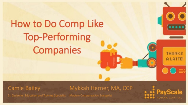 How to Do Comp Like Top-Performing Companies