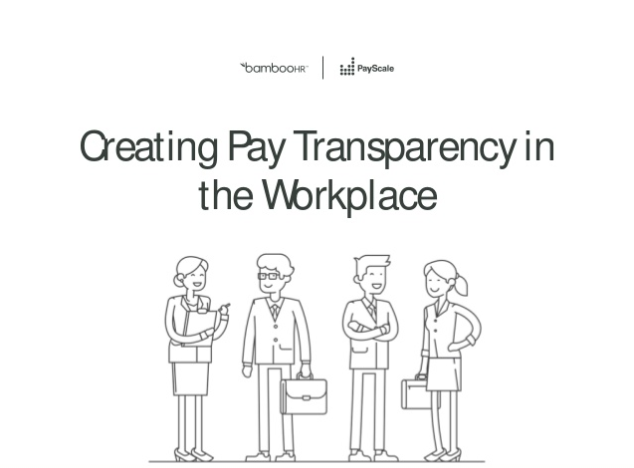 The Challenge of Pay Transparency
