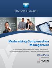 Modernizing Compensation