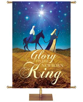O Holy Night Christmas Banner