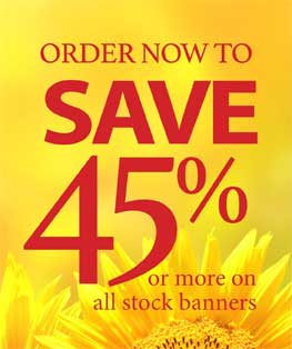 50% Off Church Banners
