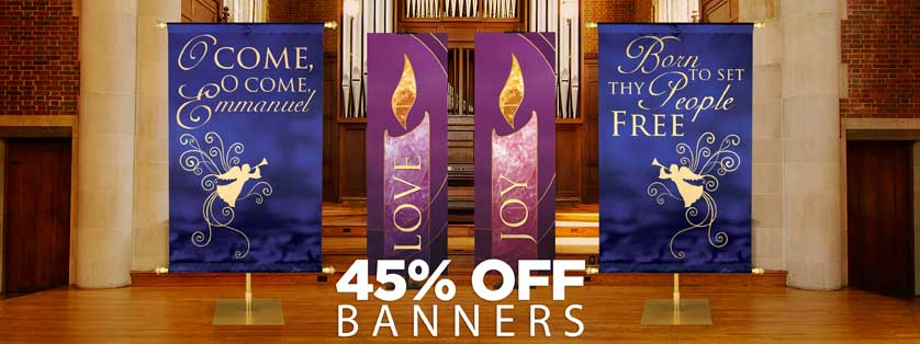 45% Off Banners