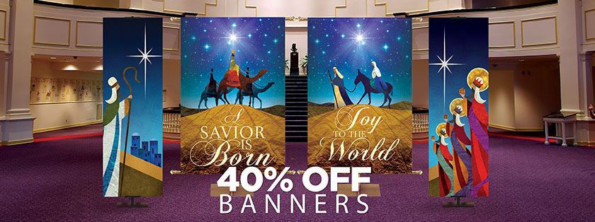 40% Off Banners