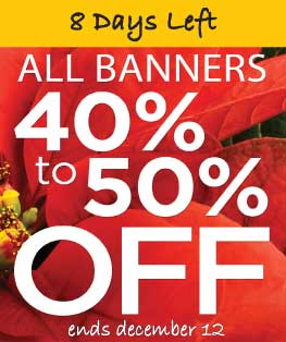 Church Banners on Sale Ending Soon