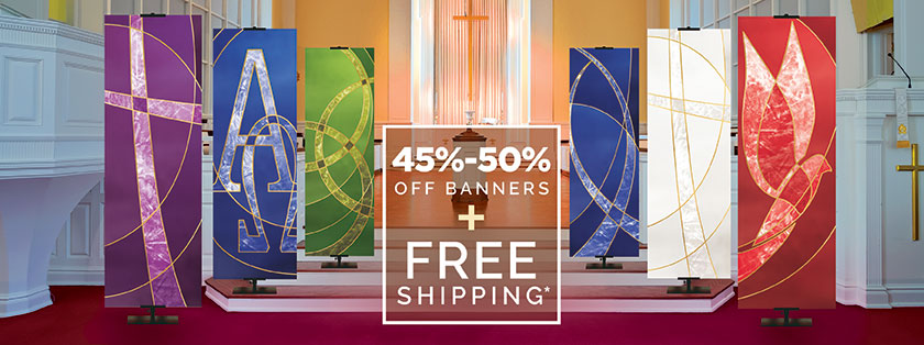 Classic Church Banners on Sale