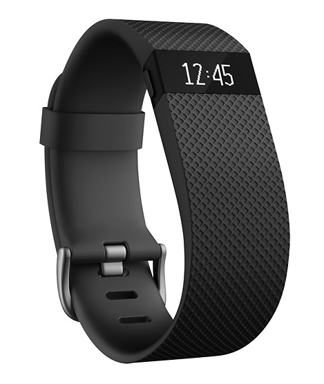 Fitbit - Charge Wireless Activity Tracker (Large) - Black