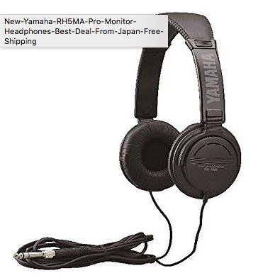 Yamaha RH5MA Pro Monitor Headphone