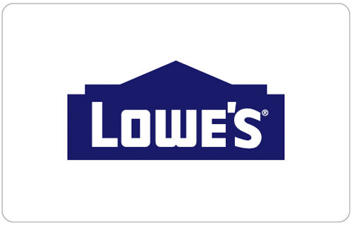 $115 Lowe's Gift Card for $100