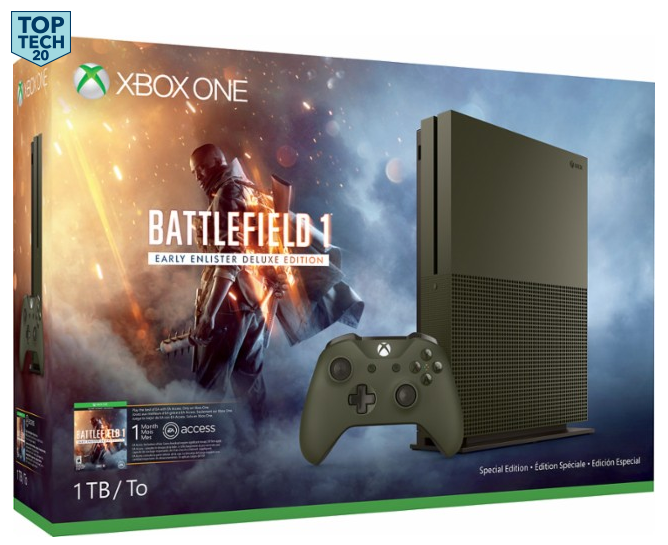 Xbox One Console – Battlefield 1 Special Edition Bundle