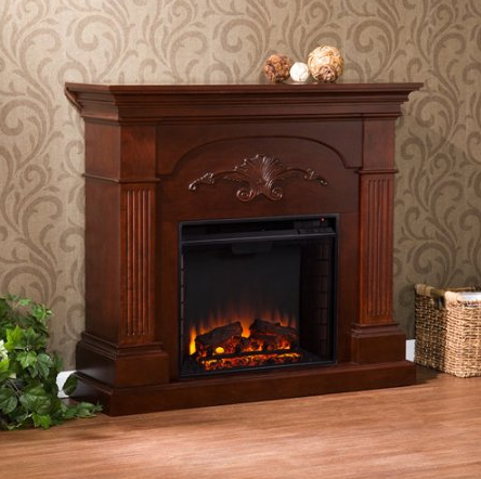 Southern Enterprises Chamberlain Electric Fireplace