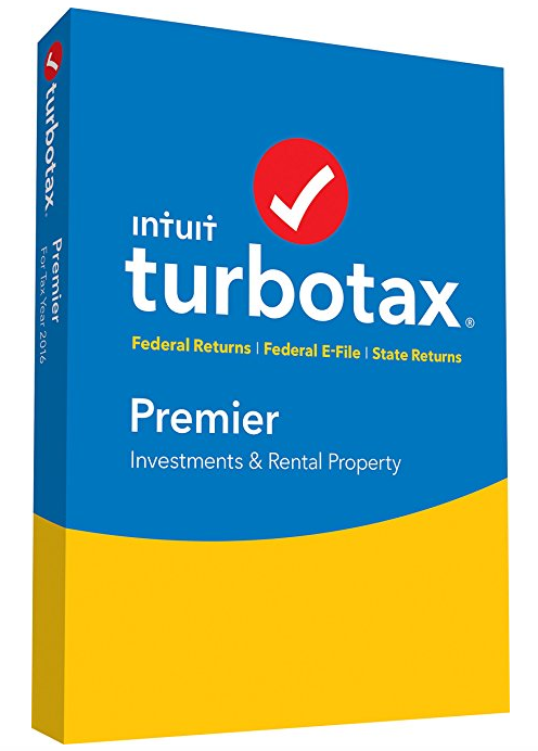 TurboTax Premier 2016 Tax Software