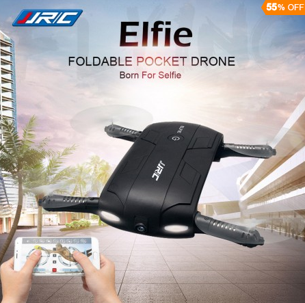 JJRC H37 ELFIE 2.4G Folding RC Quadcopter