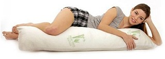 Aloe & Bamboo Memory Foam Body Pillow