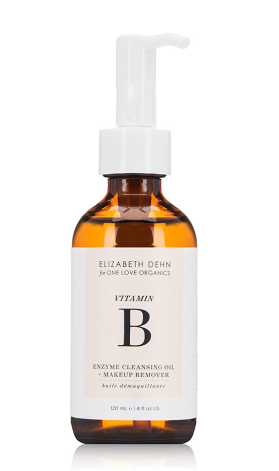 One Love Organics: Vitamin B Enzyme Cleansing Oil + Makeup Remover (4 fl oz.)