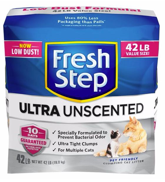 Fresh Step® Ultra Unscented Cat Litter - Clumping