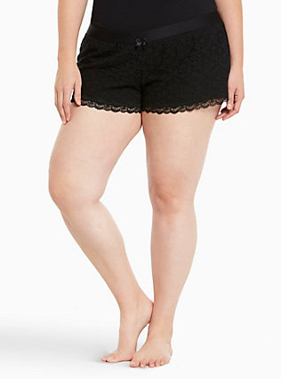 Sleep Lace Foxer Shorts