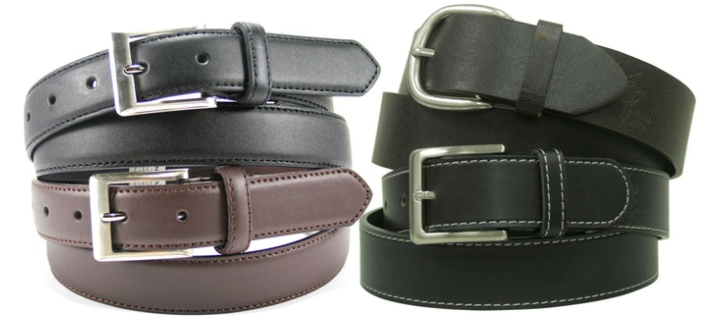 Men's Beverly Hills Polo Club Belts (2-Pack)