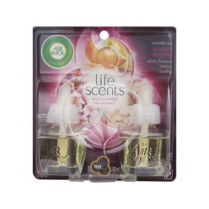 Air Wick Life Scents Scented Oil Summer Delights, 1.34 OZ