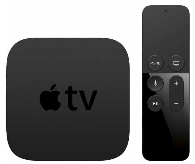 Apple - Apple TV - 32GB (4th Generation - Latest Model) - Black