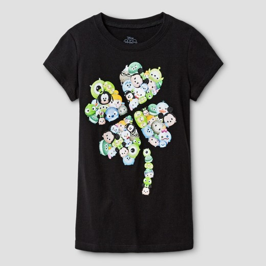 Girls' Disney® T-shirt - Black
