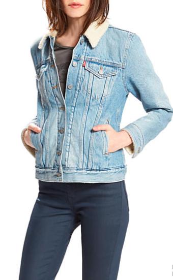 Levi's® Boyfriend Sherpa Trucker Jacket