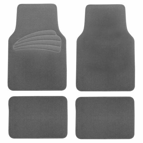 FH Group Gray Carpet Premium All Weather Floor Mat