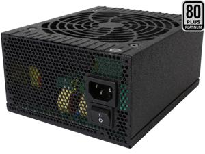 Rosewill Quark Series 850W Full Modular Power Supply with LED Indicator, 80 Plus Platinum Certified, Single +12V Rail, Intel 4th Gen CPU Ready, SLI & Crossfire Ready - Quark-850