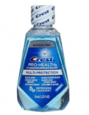 Crest Pro-Health Mutli-Protection Oral Rinse, Refreshing Mint, 1.22 fl oz (36 ml), 1 Count