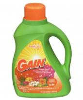 Gain Detergent, 2X Ultra, Island Fresh 50 fl oz (1.56 qt) 1.47 lt