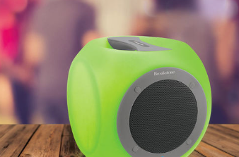 Eluma Cube Color-Changing Wireless Bluetooth Speaker