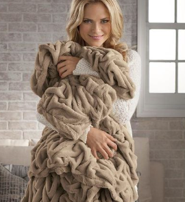 Nap™ Deluxe Braided Throw Blanket
